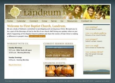 First Baptist Church, Landrum