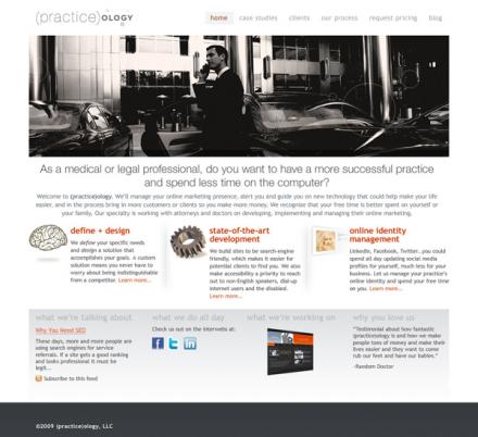 (practice)ology Website