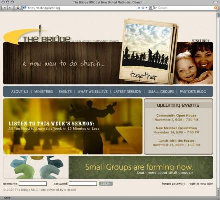 The Bridge UMC Website