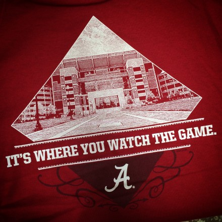 Alabama Football T-shirts