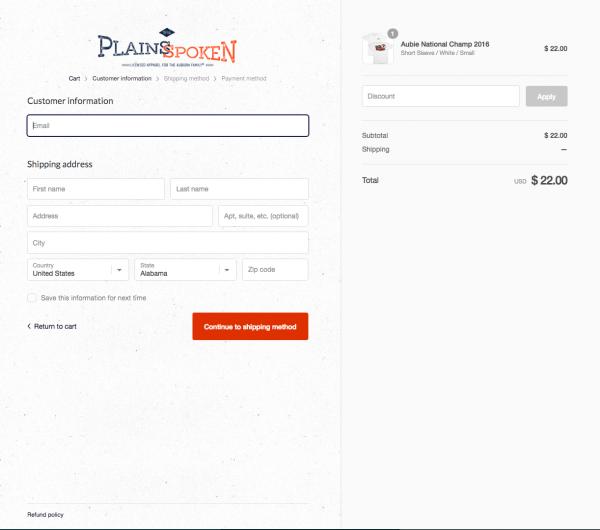 Plains Spoken Website
